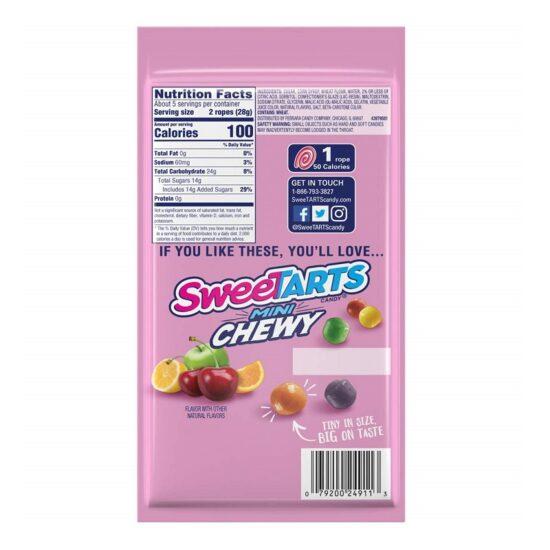 Sweet-Tarts Ropes 5.0oz 12ct