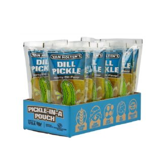 Van Holten Large Dill Pickle Pouch 12ct