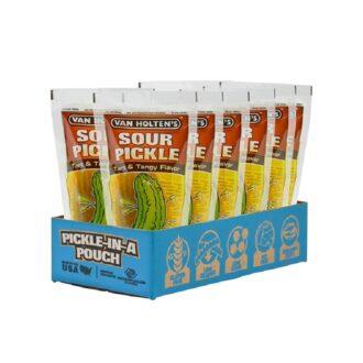 Van Holten Large Sour Pickle Pouch 12ct