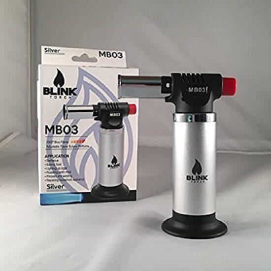 Blink Torch Lighter MB03 – Silver