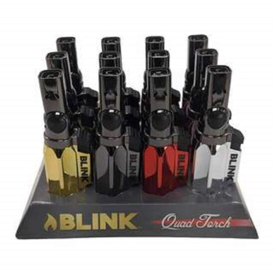 Blink Quad Torch 4 Flame 12ct