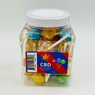 HC CBD Dessert Lollipops 25mg Per Stick 24pcs