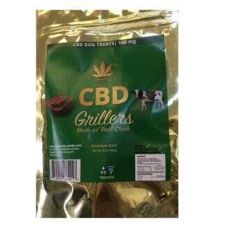 HC CBD Grillers Dog Treats 100mg