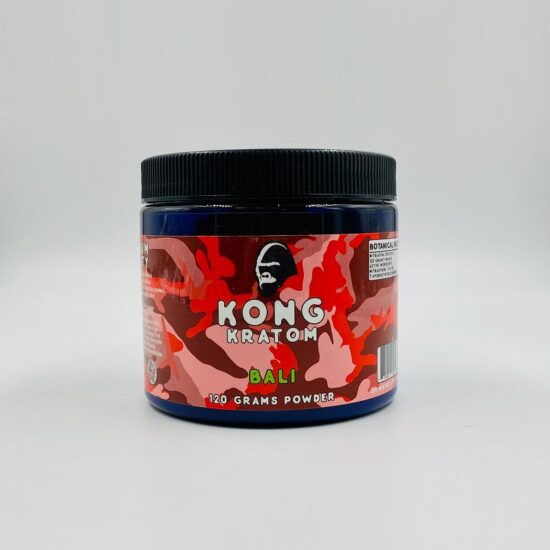 Kong Bali Kratom 120 Grams Powder