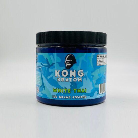 Kong White Thai Kratom 120 Grams Powder