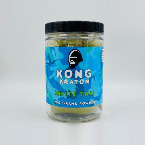 Kong White Thai Kratom 250 Grams Powder
