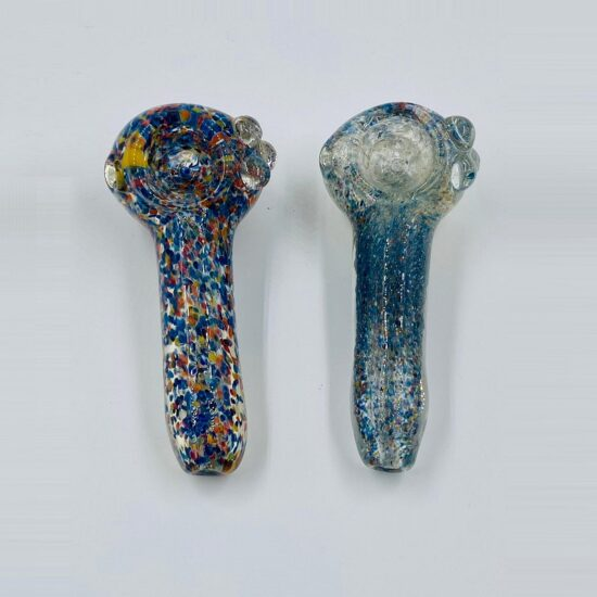"""4"""" Multi Color Speckled Spoon"""