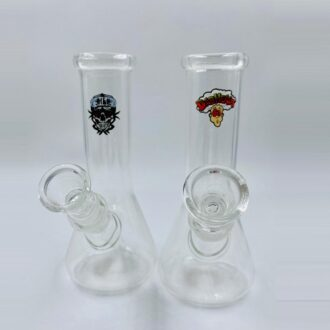"6"" Clear Dab Head Mini Beaker WP"