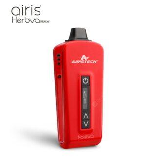 Airis Nokiva Dry Herb Vaporizer Red