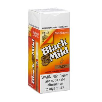 Black & Mild Jazz Pls Tip $1.19 25ct