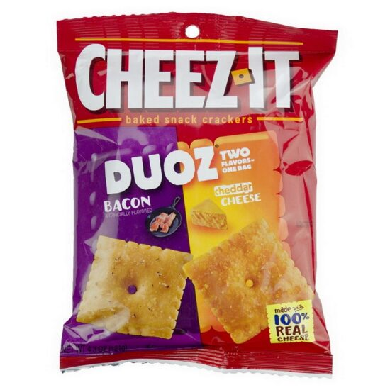 Cheez-It Duoz Bacon And Cheddar Cheese 6ct 4.3oz