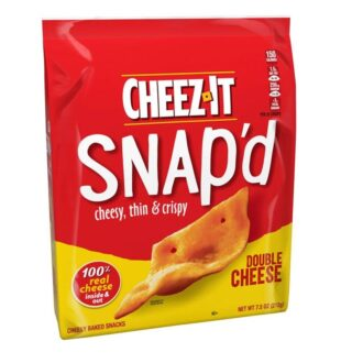 Cheez-It Snap'D Double Cheese