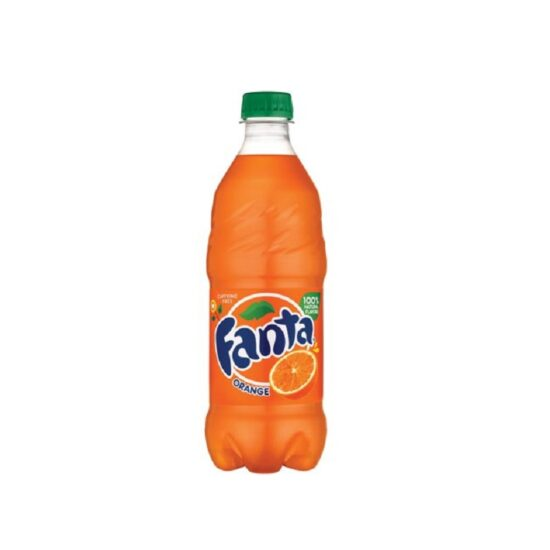 Fanta Soda Orange 20fl Oz 24pk