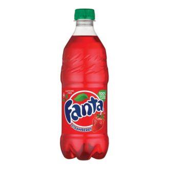 Fanta Soda Strawberry 20fl Oz 24pk