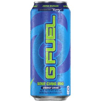 Gfuel Sour Chug Rug Energy Drink 12X16Fl Oz