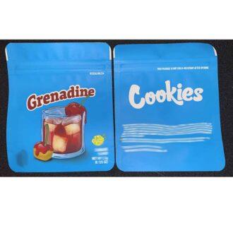Grenadine-Bag 8X12cm 3.5 Grams 1/8oz 50ct