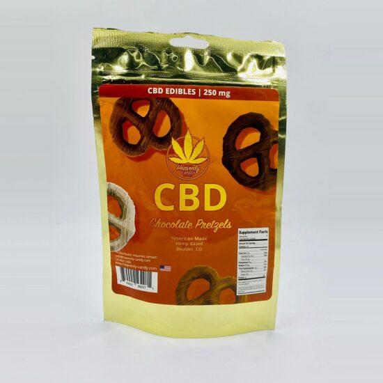 HC CBD Chocolate Pretzels 250mg