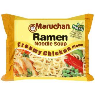Maruchan Ramen Creamy Chicken 3oz 12ct