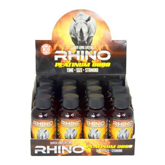 Rhino Platinum Shot 8000 12ct