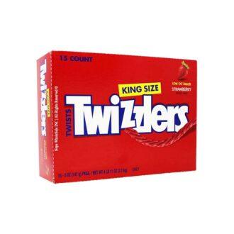 Twizzlers Straw Twists King Size 5oz 15ct