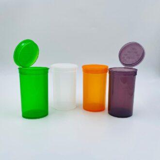 19DR Pop Vial Container Cap 80ml