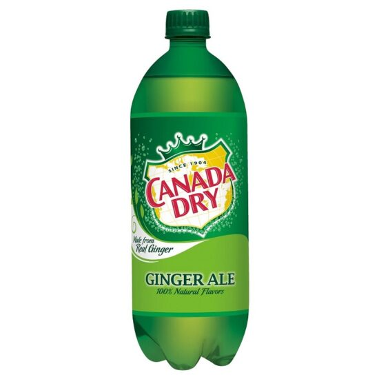 Canada Dry Soda 1 Liter 24ct