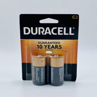 Duracell C-2Pk 8 Cards