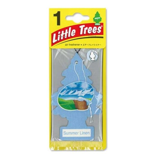 Little Tree Air Freshener Summer Linen 24-1 Packs