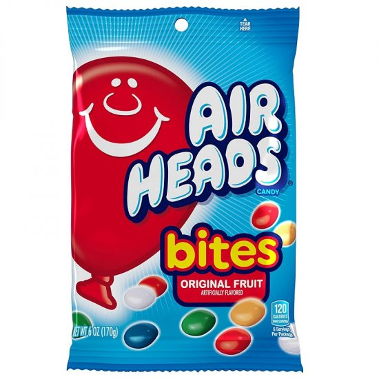 Airheads Bites Fruit 6oz 12ct