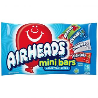 Airheads Candy 5 bars 2.75oz 18ct