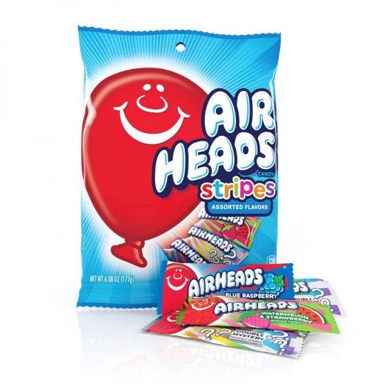 Airheads Stripes Mini Bars 6oz