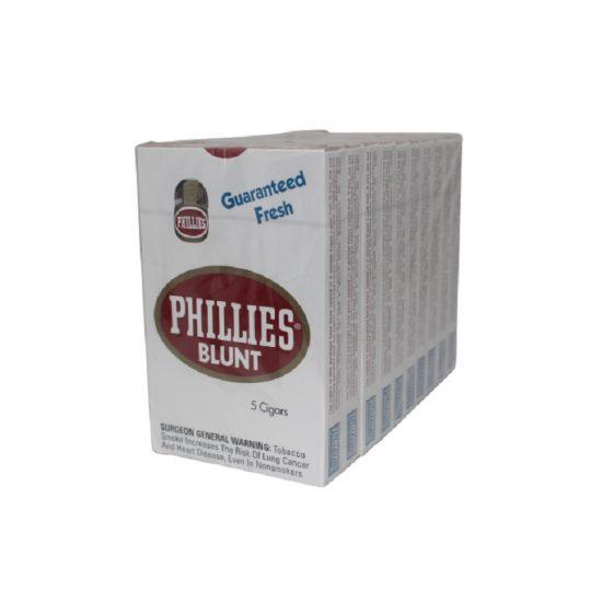 Phillie Blunt Regular 10*5 30ct