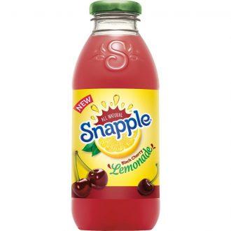 Snapple Black Cherry Lemonade Drink 16fl oz 12pk