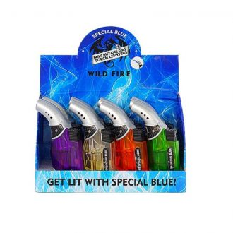 Special Blue Wild Fire Lighter 12Pcs Box