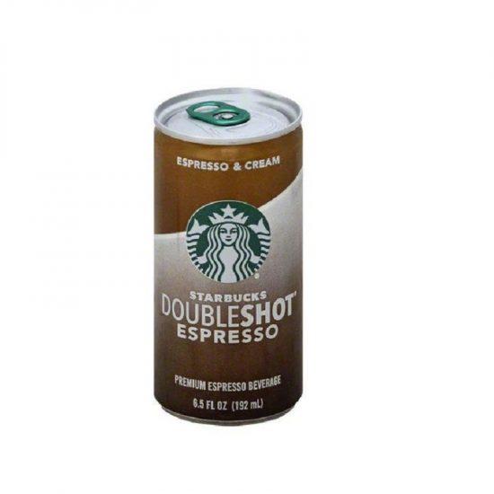 Starbucks Double Shot Espresso Safe Can 6.5fl oz