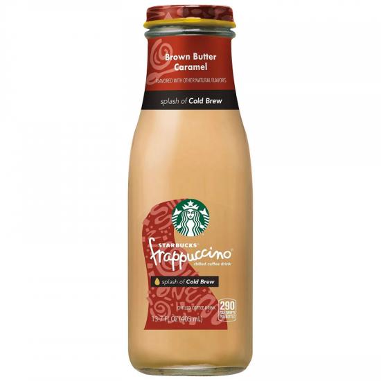 Starbucks Frappuccino Brown Butter Caramel 13.07oz 12ct