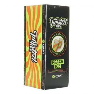 Twisted Tips Peach Ice 24ct