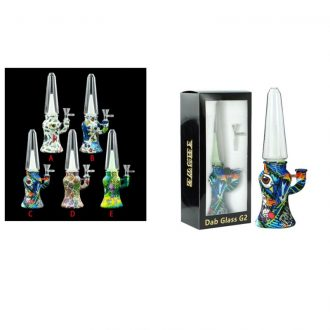 """9.8"""" Dabb Glass With Printing"""