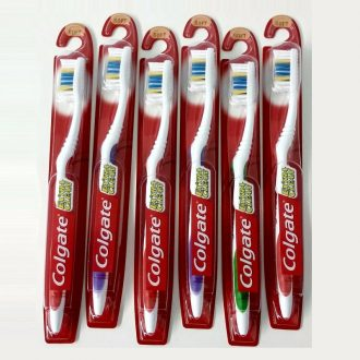 Colgate Extra Clean Medium Tooth Brush 6ct