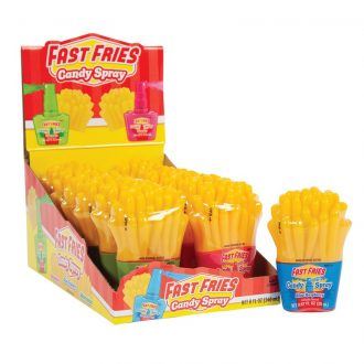 Fast Fries Candy Spray 12ct