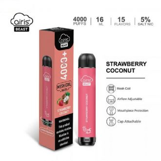 Airis Beast Strawberry Coconut Disposable Vape Device