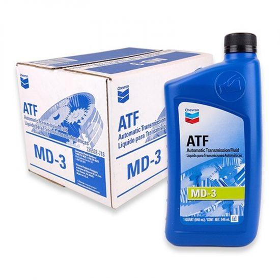 Chevron Motor Oil ATF 12ct 1qt
