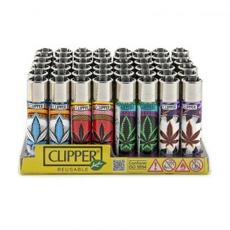 Raw Lighter Oriental Leaves Reusable 48ct